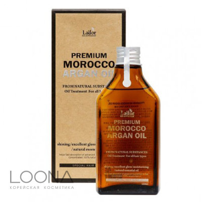 Масло для волос Lador Premium Morocco Argan Hair Oil 100ml