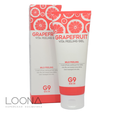 Гель-скатка для лица G9SKIN Grapefruit Vita Peeling Gel 150ml