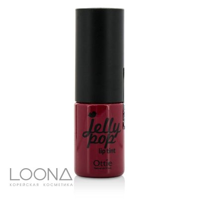Тинт-желе для губ Ottie Jelly Pop Liptint  #1 [Вишневый пудинг]