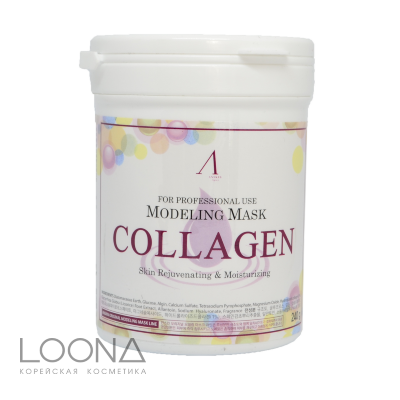 АН Original Маска альгинатная с коллагеном укрепл. (банка) 700мл Collagen Modeling Mask / container 240гр