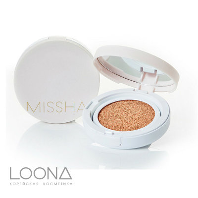 Тональный крем-кушон MISSHA Magic Cushion Cover Lasting SPF50+/PA+++ (No.23) 15 гр.