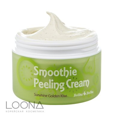 Отшелушивающий крем Holika Holika Smoothie Peeling Cream Sunshine Golden Kiwi